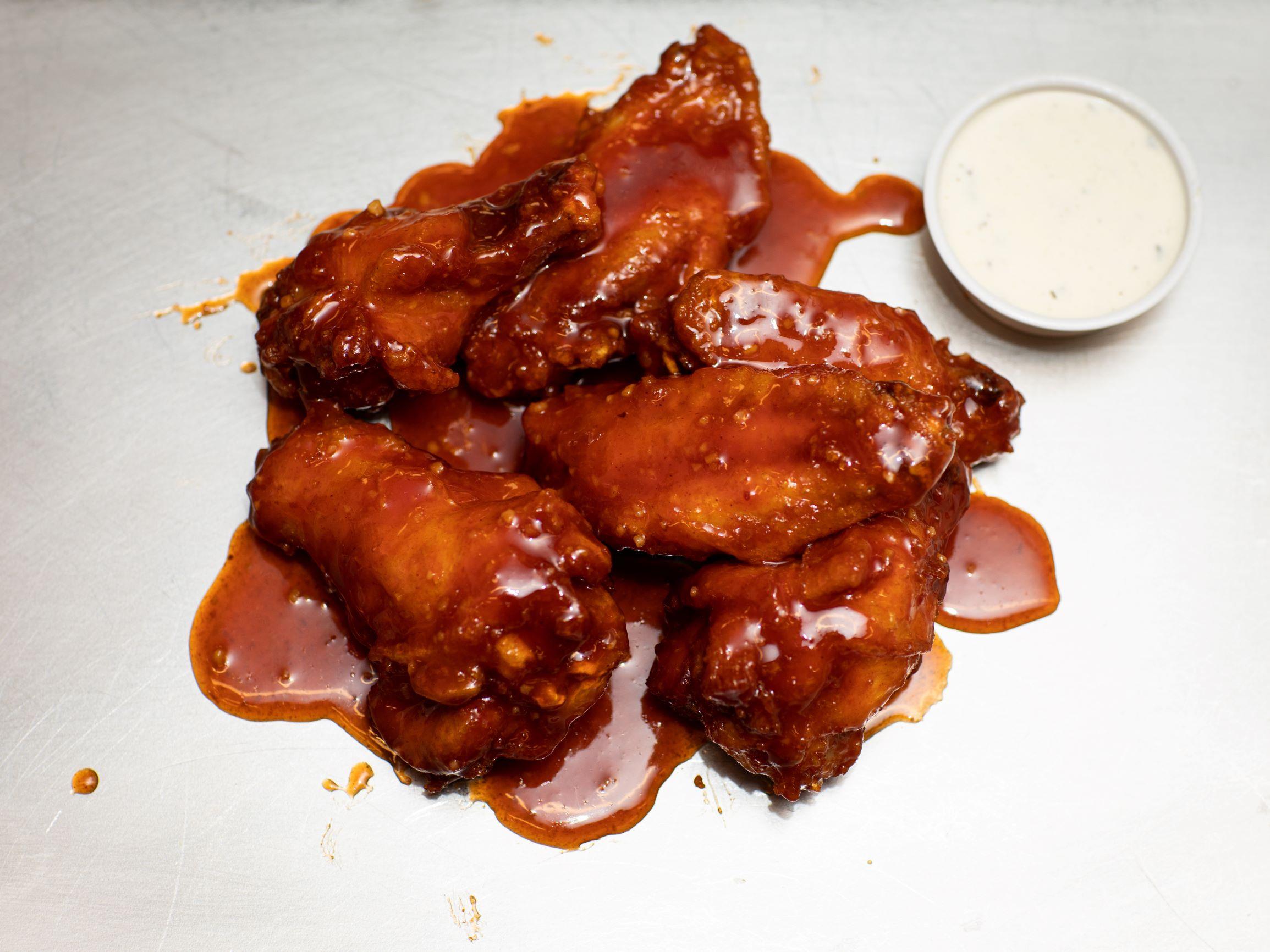 Sweet + Spicy Jumbo Wings