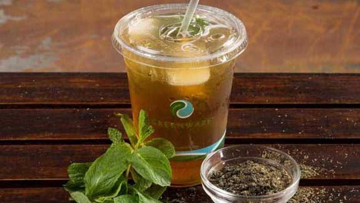 House-Made Mint Green Iced Tea