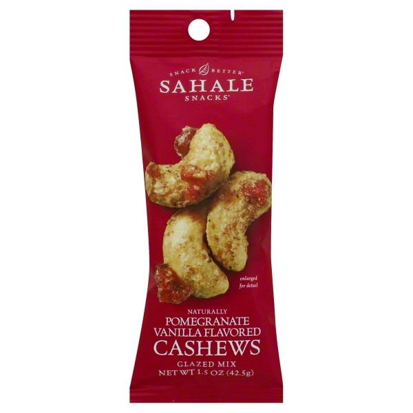 SAHALE (Pomegranate Vanilla Flavored Cashews Glazed Mix)