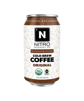 Nitro Cold Brew Coffee Can