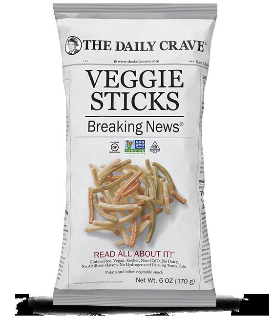 The Daily Crave: Veggie Straws/ Sticks Chips